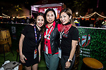 HSBC Hexagon Suite at the HSBC Sevens Village during the HSBC Hong Kong Rugby Sevens 2018 on 08 April 2018, in Hong Kong, Hong Kong. Photo by Yu Chun Christopher Wong / Power Sport Images
