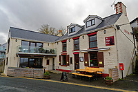 WORDS BY JANE FRYER, DAILY MAIL<br /> Pictured: The Ship Inn in Aberporth, west Wales, UK. Thursday 21 December 2017<br /> Re: The Welsh coastal village of Aberporth has launched a crusade against single-use plastic products.<br /> The village's general store is selling milk in glass bottles and a pub has replaced plastic drinking straws with paper ones.<br /> Residents launched Plastic-free Aberporth as the UK government's Environment Secretary, Michael Gove, issued his four-point plan for tackling plastic waste.