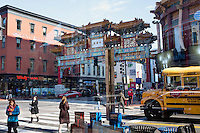 The Chinese Friendship Gate, the symbol of the Chinese district in Washington DC. Most of the internationally traded tigers parts are bought either by Chinese in China or by Chinese communities abroad. In the US, New York, Miami and Los Angeles are the biggest Chinese districts where tiger parts, as well as other animals parts, are traded.