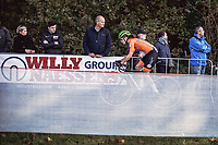 Marianne Vos (NED) chasing. <br /> <br /> <br /> UEC CYCLO-CROSS EUROPEAN CHAMPIONSHIPS 2018<br /> 's-Hertogenbosch – The Netherlands<br /> Women's Elite Race