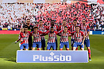 Atletico de Madrid's team photo during La Liga match between Atletico de Madrid and Real Madrid at Wanda Metropolitano Stadium in Madrid, Spain. February 09, 2019. (ALTERPHOTOS/A. Perez Meca)