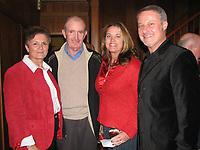 Arkansas Democrat-Gazette/KARA ISHAM 12-3-06<br /><br />greenwood 1210 nwprofiles06.jpg<br />Ellen and John McDonnell with Patti and James Kimbrough.<br /><br />12-4-06