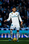 Carlos Henrique Casemiro of Real Madrid in action during the La Liga 2017-18 match between Real Madrid and RC Deportivo La Coruna at Santiago Bernabeu Stadium on January 21 2018 in Madrid, Spain. Photo by Diego Gonzalez / Power Sport Images