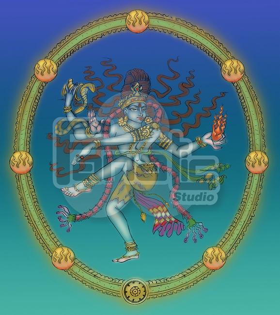 Close-up of Nataraja the Hindu God of dance