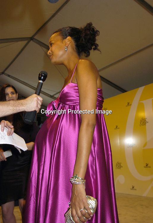 Liya Kebede..at the 2005 CFDA Fashion Awards on June 6, 2005 at ..the New York Public Library. ..Photo by Robin Platzer, Twin Images