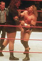 Big Show Triple H 1999                                                               Photo By John Barrett/PHOTOlink