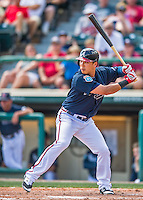 14 March 2016: Atlanta Braves outfielder Kyeong Duk Kang in action during a Spring Training pre-season game against the Tampa Bay Rays at Champion Stadium in the ESPN Wide World of Sports Complex in Kissimmee, Florida. The Braves shut out the Rays 5-0 in Grapefruit League play. Mandatory Credit: Ed Wolfstein Photo *** RAW (NEF) Image File Available ***