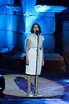 Luz Casal during 2015 Theater Ceres Awards ceremony at Merida, Spain, August 27, 2015. <br /> (ALTERPHOTOS/BorjaB.Hojas)