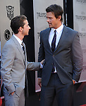 Josh Duhamel & Shia LaBeou at The Premiere Of DreamWorks & Paramount's Transformers 2: Revenge Of The Fallen held at The Mann's Village Theatre in Westwood, California on June 22,2009                                                                     Copyright 2009 DVS / RockinExposures