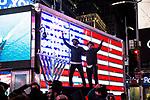 Hanukkah celebration in Times Square
