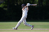 Naivedyam Dwivedi hits 4 runs for Wanstead during Brentwood CC vs Wanstead and Snaresbrook CC, Essex Cricket League Cricket at The Old County Ground on 12th September 2020