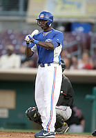 Trayvon Robinson / Inland Empire 66ers..Photo by:  Bill Mitchell/Four Seam Images