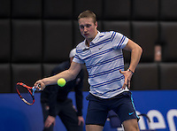 meRotterdam, Netherlands, December 13, 2016, Topsportcentrum, Lotto NK Tennis,  Jelle Sels (NED) <br /> Photo: Tennisimages/Henk Koster