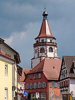 Narrenmuseum Niggelturm, Gengenbach, Ortenaukreis, Baden-Württemberg, Deutschland, Europa<br /> museum of carnival revelers Niggelturm, Gengenbach, Ortenaukreis, Baden-Wuerttemberg, Germany, Europe
