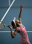 Venus Williams (USA)  at the Western and Southern Financial Group Masters Series in Cincinnati on August 16, 2012