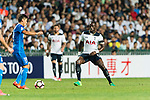 Tottenham Hotspur Midfielder Moussa Sissoko (R) in action against SC Kitchee Midfielder Yang Huang (L) during the Friendly match between Kitchee SC and Tottenham Hotspur FC at Hong Kong Stadium on May 26, 2017 in So Kon Po, Hong Kong. Photo by Man yuen Li  / Power Sport Images