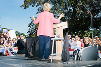 Hillary Clinton - Portsmouth, NH - Rally - 5 September 2015