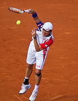 03-06-13, Tennis, France, Paris, Roland Garros,  Kei Nishikori