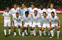 DC United starting XI. CD Chivas USA tied D. C. United 2-2 during an MLS regular season match at the Home Depot Center, Carson, CA, on September 6, 2007.