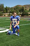 Agoura Hills High School football player