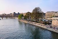 Isle de Cite, Paris, France.