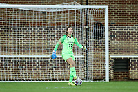 CHAPEL HILL, NC - NOVEMBER 16: Marz Josephson #17 of the University of North Carolina plays the ball during a game between Belmont and North Carolina at UNC Soccer and Lacrosse Stadium on November 16, 2019 in Chapel Hill, North Carolina.