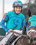 HALLANDALE BEACH, FL - Photo of Paco Lopez taken December 10, 2015 at Gulfstream Park in Hallandale Beach, FL. (Photo by Bob Aaron/Eclipse Sportswire/Getty Images)