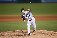 Charlotte Knights relief pitcher Jace Fry (20) in action against the Nashville Sounds at Truist Field on June 4, 2021 in Charlotte, North Carolina. (Brian Westerholt/Four Seam Images)
