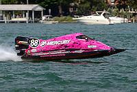 Tammy Wolf (#88)<br /> <br /> Trenton Roar On The River<br /> Trenton, Michigan USA<br /> 17-19 July, 2015<br /> <br /> ©2015, Sam Chambers