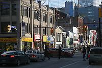 CANADA una strada di Toronto  CANADA a street in Toronto