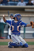 September 1 2008: Esteban Lopez of the Inland Empire 66'ers during game against the Rancho Cucamonga Quakes at The Epicenter in Rancho Cucamonga,CA.  Photo by Larry Goren/Four Seam Images