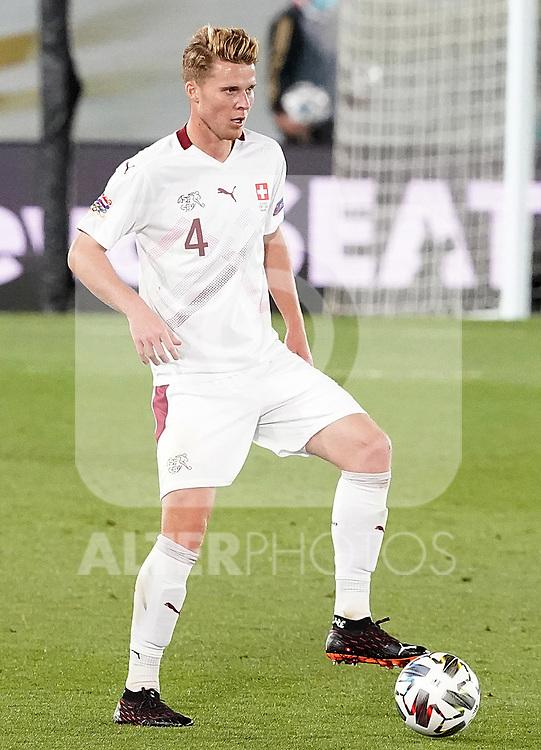Switzerland's Nico Elvedi during UEFA Nations League 2020 League Phase match. October 10,2020.(ALTERPHOTOS/Acero)