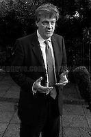 """Lord Jonathan Hopkin Hill, Baron Hill of Oareford CBE PC (British Conservative politician and European Commissioner for Financial Stability, Financial Services and Capital Markets Union).<br /> <br /> Update - 26.06.2016 - Lord Hill resigns, """"saying what is done cannot be undone after the UK voted to leave the European Union"""" (Source, BBC.co.uk).<br /> <br /> 23.06.2016 - The Voting Day.<br /> <br /> London, March-July 2016. Reporting the EU Referendum 2016 (Campaign, result and outcomes) observed through the eyes (and the lenses) of an Italian freelance photojournalist (UK and IFJ Press Cards holder) based in the British Capital with no """"press accreditation"""" and no timetable of the main political parties' events in support of the RemaIN Campaign or the Leave the EU Campaign.<br /> On the 23rd of June 2016 the British people voted in the EU Referendum... (Please find the caption on PDF at the beginning of the Reportage).<br /> <br /> For more information about the result please click here: http://www.bbc.co.uk/news/politics/eu_referendum/results"""