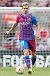 FC Barcelona's Frenkie De Jong during La Liga match. August 29, 2021. (ALTERPHOTOS/Acero)