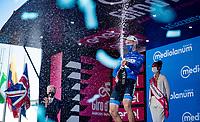 Maglia Azzurra / KOM Leader / Mountains Clasification Winner Geoffrey Bouchard (FRA/AG2R Citroën)<br /> <br /> 104th Giro d'Italia 2021 (2.UWT)<br /> Stage 21 (final ITT) from Senago to Milan (30.3km)<br /> <br /> ©kramon