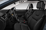 Front seat view of 2017 Skoda Octavia Style 5 Door Wagon Front Seat  car photos
