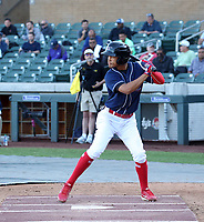 Jonathan Mejia participates in the MLB International Showcase at Salt River Fields on November 12-14, 2019 in Scottsdale, Arizona (Bill Mitchell)