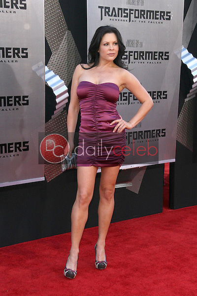 Christa Campbell<br />at the Los Angeles Premiere of 'Transformers Revenge of the Fallen'. Mann Village Theatre, Westwood, CA. 06-22-09<br />Dave Edwards/DailyCeleb.com 818-249-4998