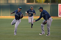 Seattle Mariners right fielder Anthony Jimenez (29) during a Minor League Spring Training game against the Los Angeles Dodgers at Camelback Ranch on March 28, 2018 in Glendale, Arizona. (Zachary Lucy/Four Seam Images)