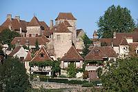 Europe/France/Midi-Pyrénées/46/Lot/Haut-Quercy/Loubressac: Le village