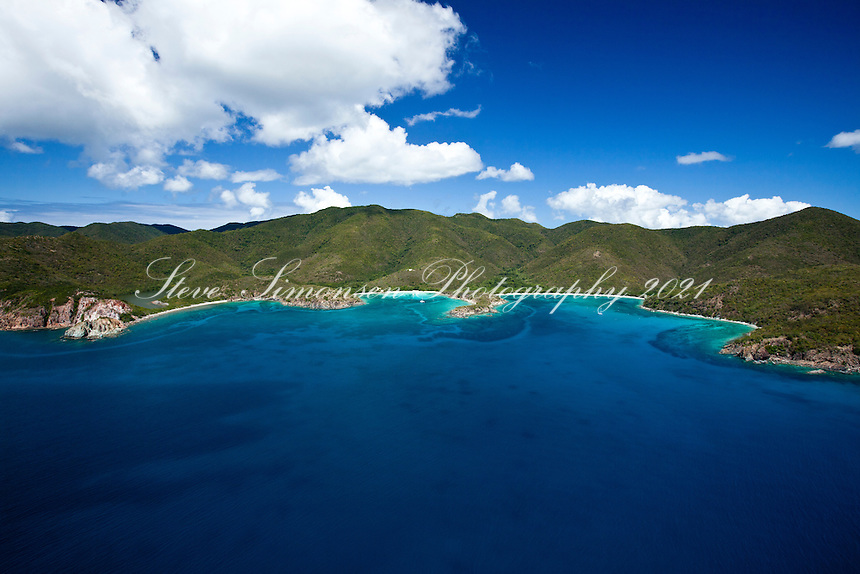 Europa Bay, Little and Great Lameshur Bays<br /> Virgin Islands National Park<br /> St. John<br /> U.S. Virgin Islands