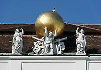 Dachfries am Josefsplatz, Wien, Österreich, UNESCO-Weltkulturerbe<br /> roof detail at Josef Square, Vienna, Austria, world heritage