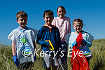 Rossbeigh Beach clean up<br /> <br /> Pupils form Glenbeigh National School gathered at Rossbeigh Beach on Friday evening for the annual clean-up<br /> L-R Sean O'Shea, Finnnán O'Connor,  Clodagh Quirke, Ella Teahan