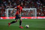 Spain national team player Dani Carvajal during UEFA EURO 2020 Qualifier match between Spain and Sweden at Santiago Bernabeu Stadium in Madrid, Spain. June 10, 2019. (ALTERPHOTOS/A. Perez Meca)