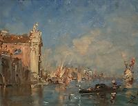 ActiveMuseum_0000048.jpg / Venice, the church of the Gesuati - Felix Ziem - <br />06/06/2013  -  <br />Active Museum / Le Pictorium