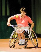 4-1-09, Renkum, NK rolstoeltennis,  Maaike Smit
