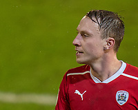 17th February 2021, Oakwell Stadium, Barnsley, Yorkshire, England; English Football League Championship Football, Barnsley FC versus Blackburn Rovers; Cauley Woodrow of Barnsley close up, who was substituted off in the second half