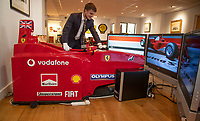 Ferrari F1 simulator for sale to giving wannabe racing drivers the chance to race in a Grand Prix