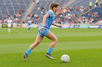 Chicago, IL - Saturday July 30, 2016: Arin Gilliland during a regular season National Women's Soccer League (NWSL) match between the Chicago Red Stars and FC Kansas City at Toyota Park.