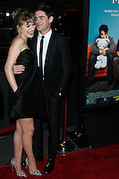 """LOS ANGELES, CA - JANUARY 27: Imogen Poots, Zac Efron at the Los Angeles Premiere Of Focus Features' """"That Awkward Moment"""" held at Regal Cinemas L.A. Live on January 27, 2014 in Los Angeles, California. (Photo by David Acosta/Celebrity Monitor)"""